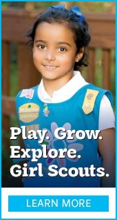 Play. Grow. Explore. Girl Scouts. Learn More.